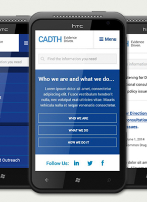 CADTH Website Redesign