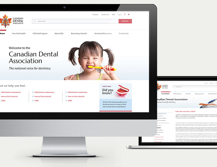 Canadian Dental Association desktop