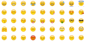 face emoticons