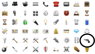 object emoticons